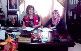 برامج وأنشطة تطوعية ينفذها الهلال الأحمر الأردني في عجلون