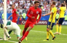 انجلترا تتأهل لنصف نهائي مونديال 2018