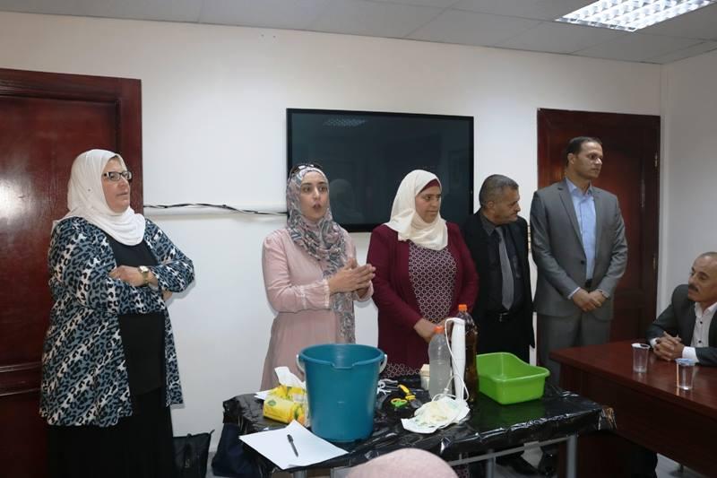 تخريج المشاركين في دورة الصابون بجمعية البيئة