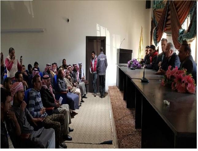 متعطلون عن العمل يرفضون مقابلة الوفد الحكومي في معان