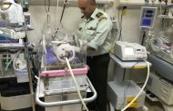 تبريد جسم طفل في مستشفى الأمير راشد العسكري