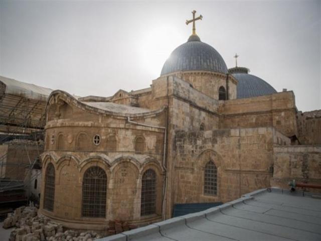 الملك يتبرع لترميم كنيسة القيامة في القدس